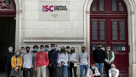 SOYEZ LES BIENVENUS À L'ISC PARIS